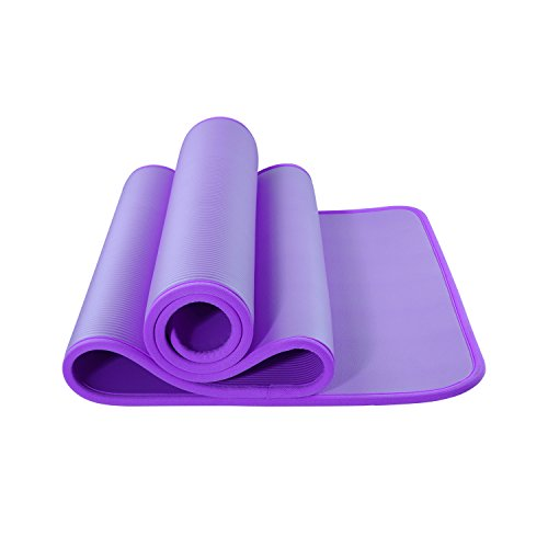 15mm Dick NBR PVC Yogamatte Rutschfest Training Fitmess Pilates Fitnessstudio