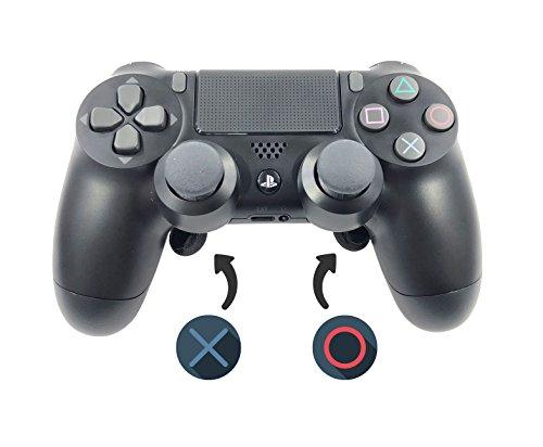 PS4 Dualshock 4 V2 Manette Confort Gaming 2x Palettes Scuf - Playstation 4 - Noir (Fortnite, Call of Duty, Dark Souls)