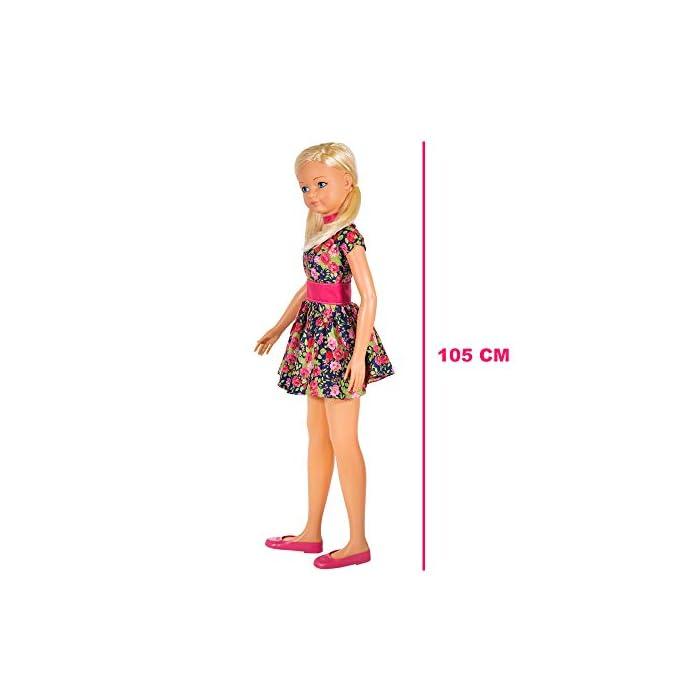 51sgA 9CYmL Muñeca María de CB Toys Materiales: plástico duro y tela Medidas: 105 cm