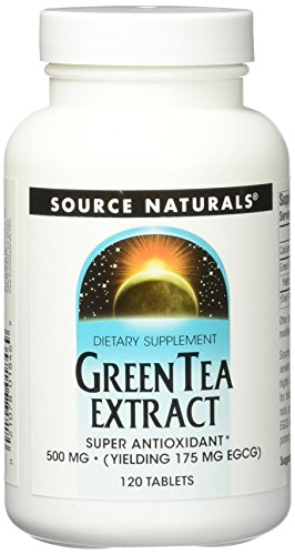 Grüner Tee Extrakt – Green Tea – 500 mg – 120 Tabletten