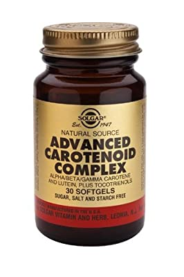 Solgar-Advanced Carotenoid Complex: 30 Softgels