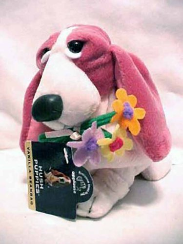 hush-puppies-strawberry-w-flowers-basset-hound-dog-puppy-adorable-take-me-home-c-by-dakin-applause