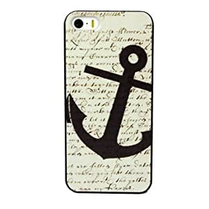 Aokdis New Hot Selling Fashional Individualized Hard Back Case for Iphone 5 5g 5s (Anchors Pattern)