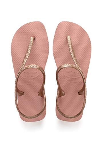 Havaianas Flash Urban, Sandali Donna, Oro (Rose Nude 7939), 39/40 EU ( 37/38 BR)