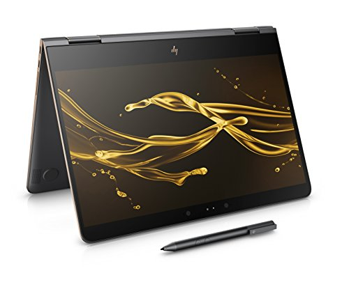 HP Spectre x360 13-ac002na 13.3-inch FHD Touch Screen Convertible Laptop with Stylus (Dark Ash Silver) - (Intel Core i7-7500U, 8GB RAM, 512GB SSD, Windows 10 Home)