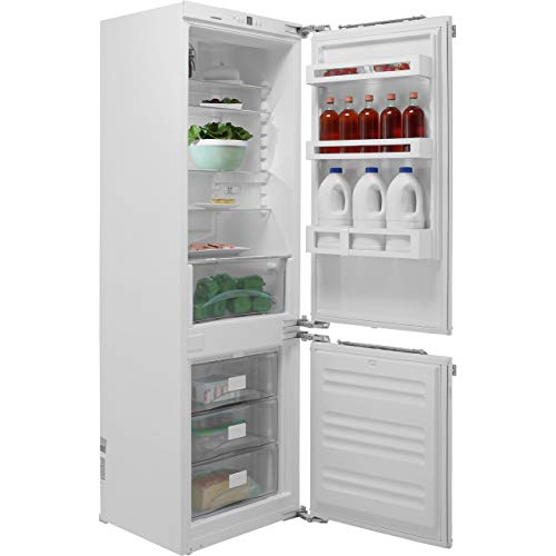 Liebherr ICUN3324 Built-in Comfort NoFrost 256 litre Fridge Freezer White with BioCool PowerCooling System and Automatic SuperFrost Function, Reversible Door, 54cm Width