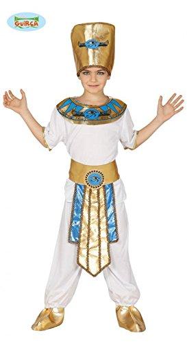 Ägypten Kinder Kostüme Für (Pharao - Kostüm für Kinder Gr. 110 - 146,)