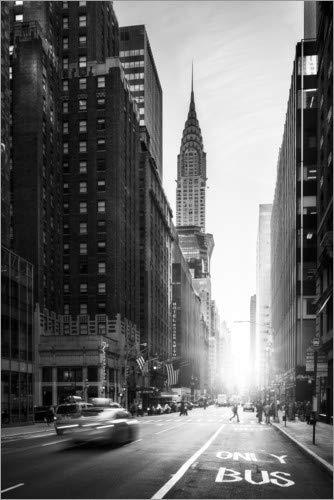 Posterlounge Acrylglasbild 20 x 30 cm: New York City von Jan Christopher Becke - Wandbild, Acryl Glasbild, Druck auf Acryl Glas Bild