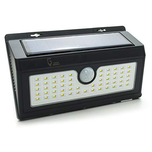 LED-Scheinwerfer Dämmerungssensor, solarbetrieben, aufladbar, Boot