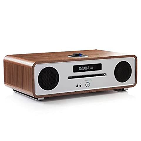 Ruark Audio R4 MK3 Home Audio System (DAB+ / CD / Bluetooth) - Walnut