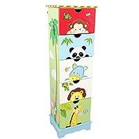 Fantasy Fields by Teamson Magic Garden Childrens Bedroom Nursery Storage 7 Drawer Cabinet