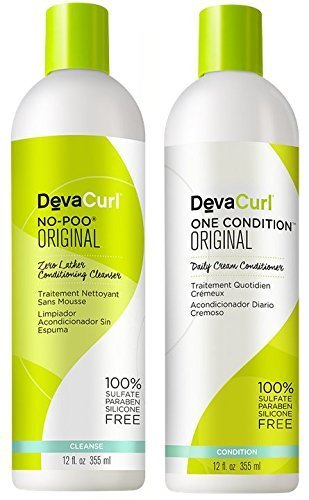 Devacurl No-poo Shampoo & Devacurl One Condition Duo - 12oz by DevaCurl -