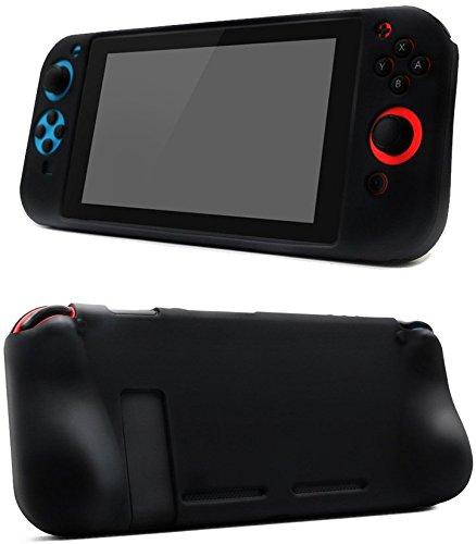 CHINFAI Funda de Silicona para Nintendo Switch, Soft Antideslizante 36