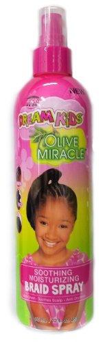 African Pride Dream Kids Olive Miracle Soothing Moisturizing Braid Spray 355ml