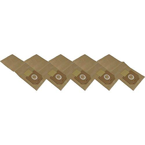 5 Staubsaugerbeutel aus hochfestem Papier passend für Kärcher NT 361 Eco TE