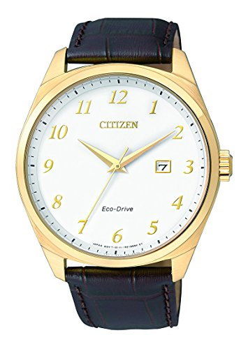 Citizen Analog White Dial Men's Watch - BM7322-06A image