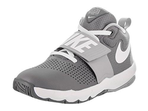 dccaeed3857 NIKE Sneakers Team Hustle D 8 (GS) Grigio-Bianco 881941-005 (