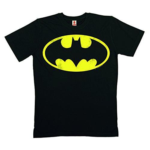 DC-Comics-Batman-Logo-T-Shirt-100-coton-organique-agriculture-biologique-noir-LOGOSHIRT