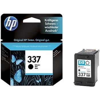 HP 337 - black - original - ink cartridge