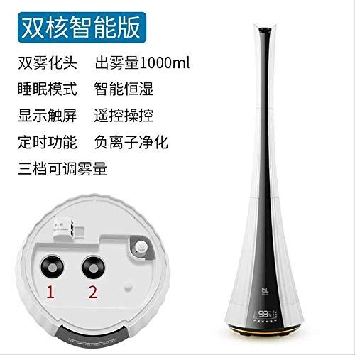 Chenshao Humidificador de Aire de Alta Capacidad de Piso a Techo hogar Elegante aún Dormitorio purificador...