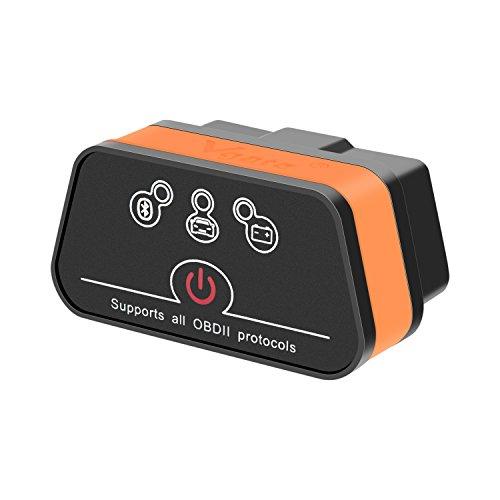 Vgate iCar2 Bluetooth3.0 lector de código, escáner de diagnóstico de coche, mini ELM327 OBD2/OBDII escáner para Torque Android/PC