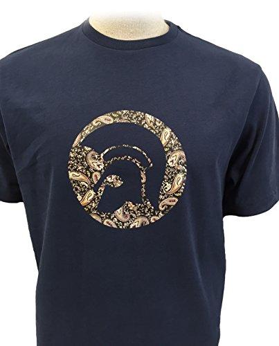 trojan-records-t-shirt-uomo-navy-medium