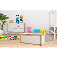 Preisvergleich für Valdern Buche Holz–0102273–Kinder Spielzeug Aufbewahrung–Ideal für Personalisierte Spielzeug Boxen
