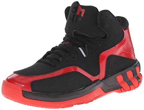New Adidas D Howard 6 chaussure de basket noir / écarlate 6 Black/Red/Black