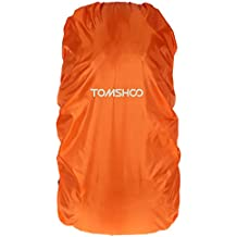 TOMSHOO 40L - 50L Rucksack Regenabdeckung Rain Cover für Wandern Camping Reisen