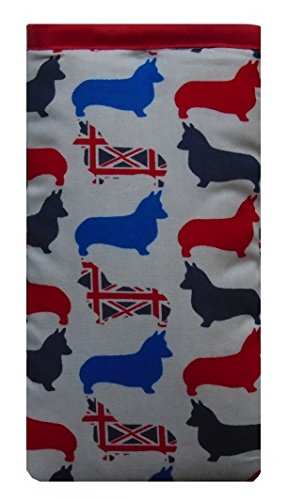 Cute British Corgi Dogs Print Apple iPhone 6 Plus sock / Case / Cover / Pouch