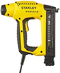Stanley HD Elektrotacker (2,5 m Kabellänge, Soft Grip, Sicherheitskontakt-Schalter, Krafteinstellrad) 6-TRE650