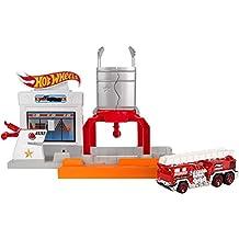 Mattel DWL01–Hot Wheels–Playset plegable–Blaze Blast