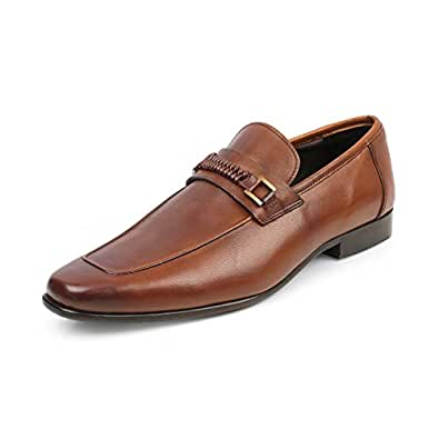 tresmode Mens Leather Formal Shoes