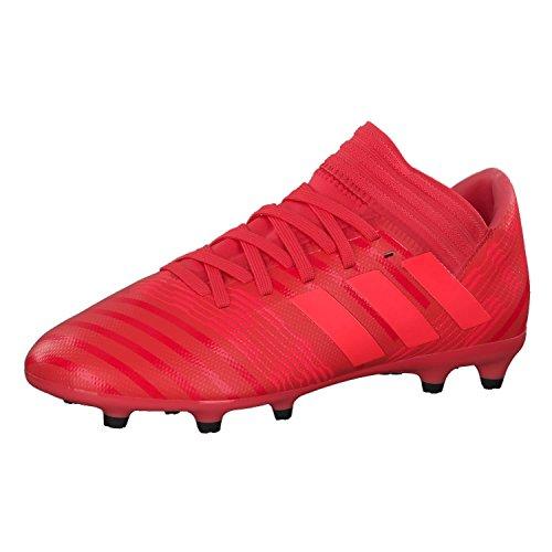 adidas Unisex-Kinder Nemeziz 17.3 FG Fußballschuhe Orange korall/rot, 33 EU