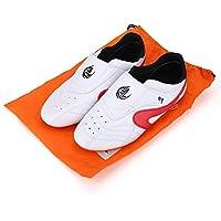 Dewin Chaussures de Taekwondo - Taekwondo, Boxe, Kung-fu, Tai-chi, Chaussures de Sport, Unisexe, pour Adultes, Enfants