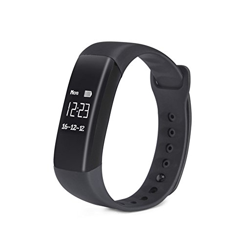 Fitness-Tracker, Schlanke Activity Tracker Mit Pulsmesser Wasserdicht Fitness-Armband Touchscreen-Fitness-Uhr Bluetooth Schrittzähler Schlaf-Monitor Für Kinder Frauen Und Männer Kompatibel Mit Android & IOS