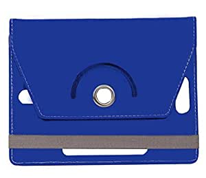 Blue Stylabs Tablet Book Flip Case Cover For Lenovo A1000l (Universal)