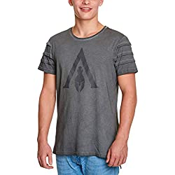 Assassin's Creed Odyssey - Logo Camiseta Gris XXL