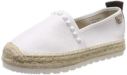 TOM TAILOR Damen 6996905 Espadrilles Weiß (White 00002) 36 EU