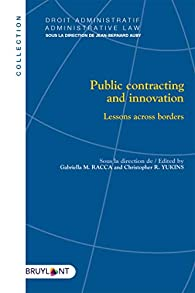 Joint public procurement and innovation: Lessons across borders - Gabriella Margherita Racca