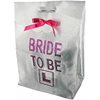 Alandra Party  Diamante Bride To Be Gift Bag, White