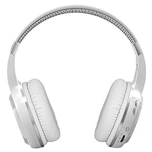 Bluedio HT(Shooting Brake) wireless bluetooth 4.1 stereo headphones (White)