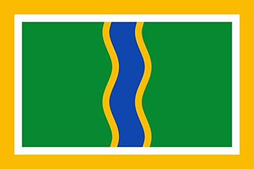 magFlags Bandera Large Andorra la Vella | bandera paisaje | 1.35m² | 90x150cm