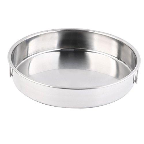 sourcingmap Dîner acier inox alimentaire légume Riz Soupe vaisselle lave ton argent