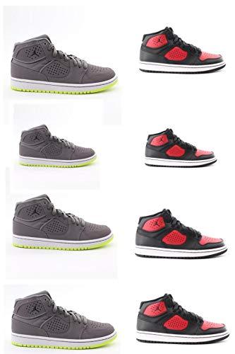 Nike Jordan Access (GS), Zapatillas Altas para Niños, Multicolor (Gunsmoke/Black/Volt/White 002), 40...