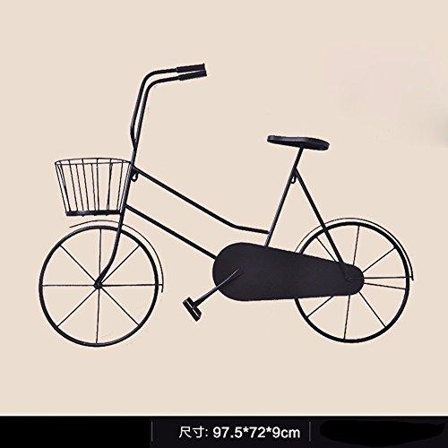 Preisvergleich Produktbild ZHGI Kreative Wanduhr Retro Fahrrad continental home Stille die Wohnzimmer Wand Dekorationen einfache Wand Dekorationen, H