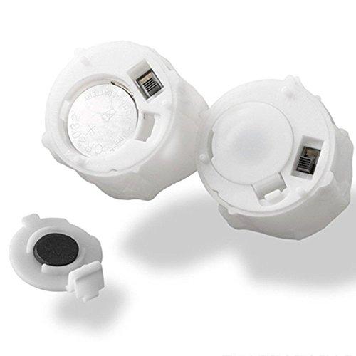 atcket (Pack de 12) plástico funciona con pilas LED velas sin llama té vela para boda fiesta de cumpleaños Decoración