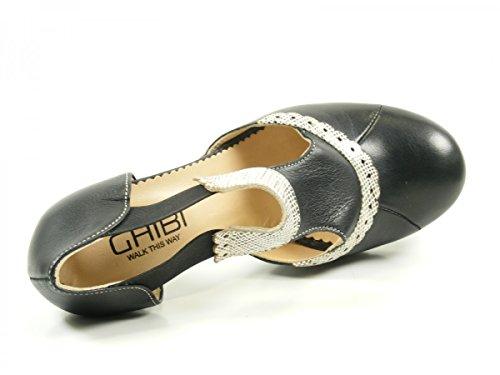 Ghibi A042 Scarpe Da Donna Nero