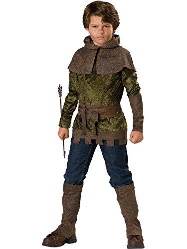 ür Kinder 6teiliig - 110/116 (Robin Hood Kinder Kostüm)