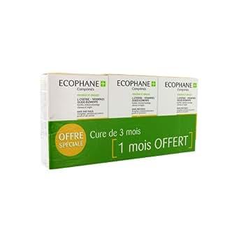 BIORGA Ecophane + Comprimés Anti-chute de cheveux - 3 boîtes de 60 comprimés